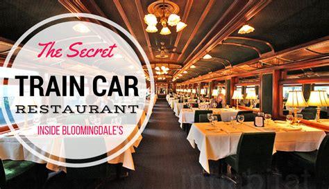 what new york restaurants have the best christmas decor le train bleu a secret train car restaurant hidden inside
