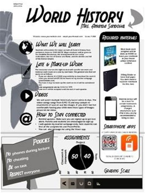242 Best Images About Beginning Of The Year Activities Ideas On Pinterest Infographic Syllabus Template Free