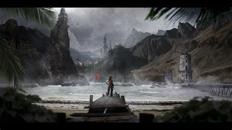 matte painting landscape painting tutorial www imgkid the