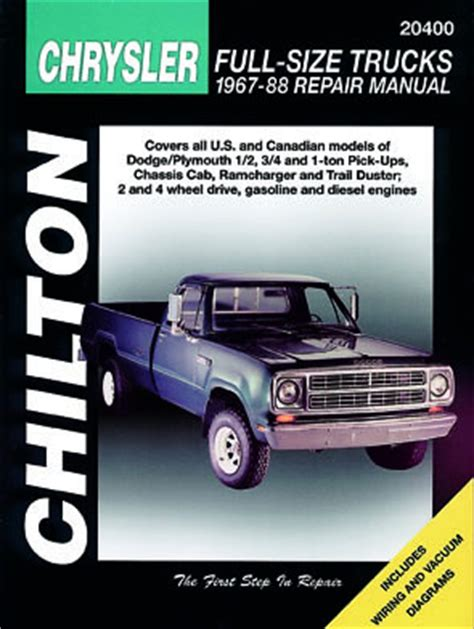 online auto repair manual 1993 dodge ramcharger auto manual dodge pick up manuals haynes clymer chilton workshop original factory car motorbike