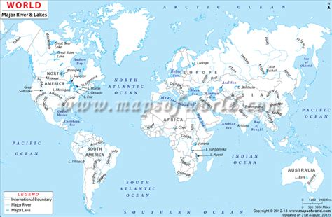 world map of large rivers river biome home