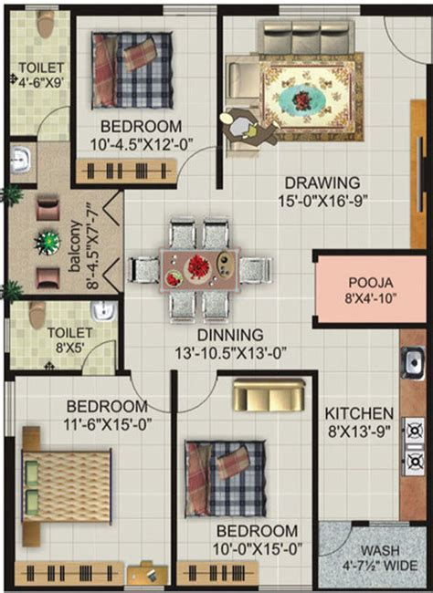 royal castle floor plan lakshmi royal castle in nallagandla gachibowli hyderabad