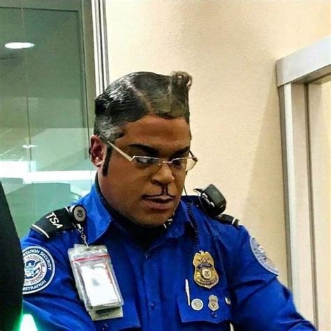 police hair styles 30 weird haircuts that are so bad they must be good