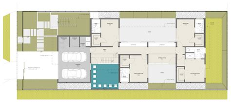 modern residential architecture floor plans ave residence modern home culver city architects