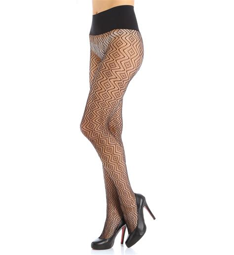 net pattern leggings commando geo net pattern tights hn006 commando hosiery