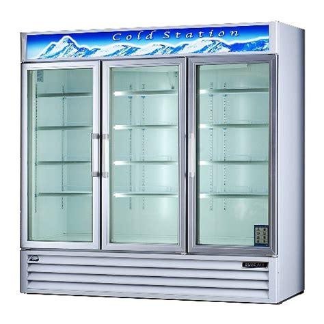 Glass Door Cooler Used 3 Door Coolers Refrigerator Display Coolers Pop Beverages Beverage Cooler Glass Doors