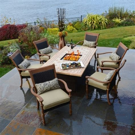 outdoor patio set with pit pit ideas