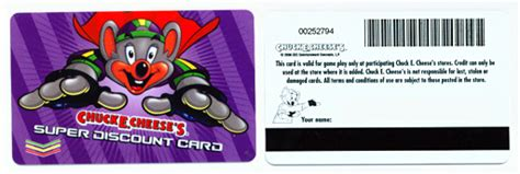 Chuck E Cheese Gift Card - cec token cards token museum