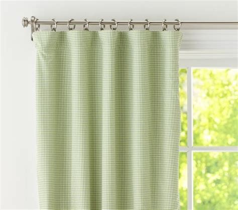 green gingham curtains nursery green gingham blackout curtains d baby pinterest