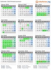 Kalender 2018 Feiertage Im Mai Kalender 2018 Ferien Niedersachsen Feiertage