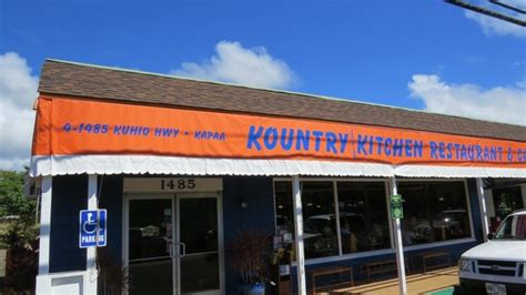 on the drag of kapaa picture of kountry kitchen
