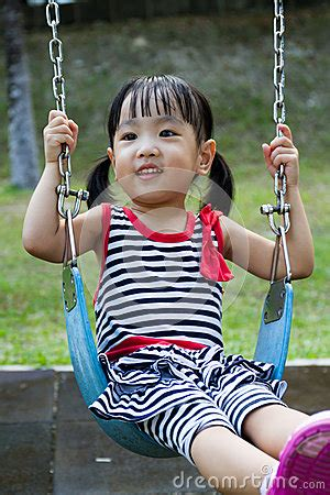 swing asia asian kid swing at park stock photo image 57108053