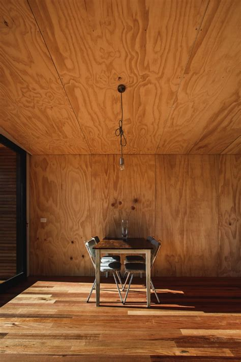 Marine Ply Ceiling by House Melbourne By Brand Studio Architects