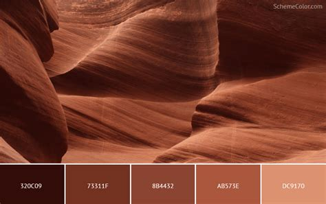 rock colors 20 rock color schemes inspired from images 187