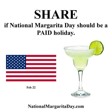 national margarita day national margarita day a paid national