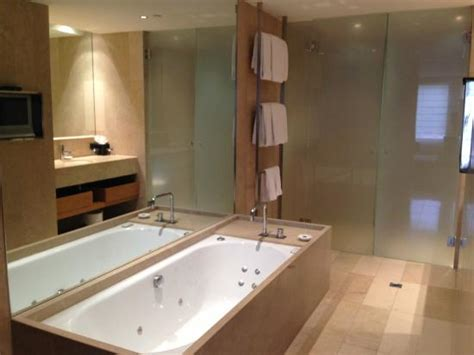 bathrooms direct melbourne spa bath with tv on bathroom wall picture of royce hotel