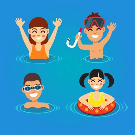imagenes de cumpleaños vectores ninos piscina fotos y vectores gratis