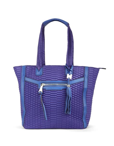 Quilt Tote by Aimee Kestenberg Jesame Quilted Tote In Blue Lyst
