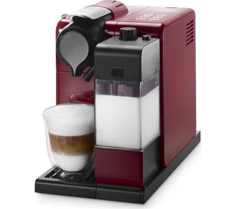 buy nespresso by de longhi lattissima touch en550 r coffee machine free delivery currys