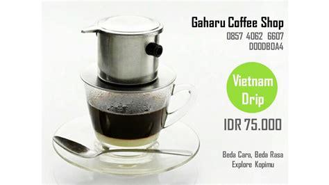 Alat Kopi Master A Dripper cara membuat kopi iced coffee manual brewing