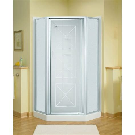 Sterling Intrigue 27 9 16 In X 72 In Neo Angle Shower Sterling Neo Angle Shower Door
