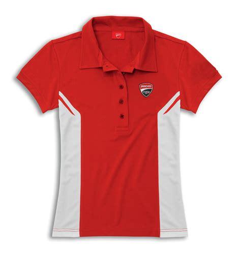 Polo Shirt Ducati Corse ducati corse 14 meryl polo shirt sleeve white