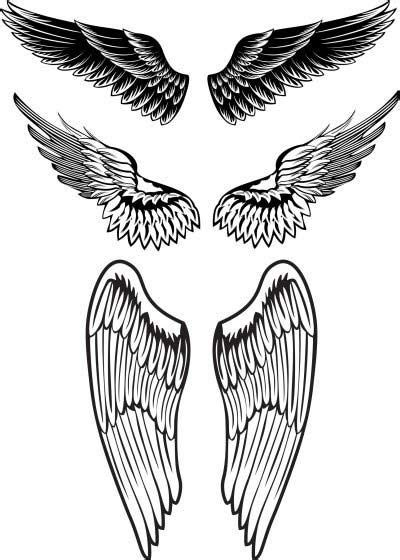 angel wings tattoo designs for men wings designs for projects to try