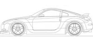 gtr car coloring pages