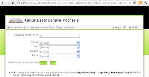 email kbbi situs kamus besar bahasa indonesia waskita adijarto