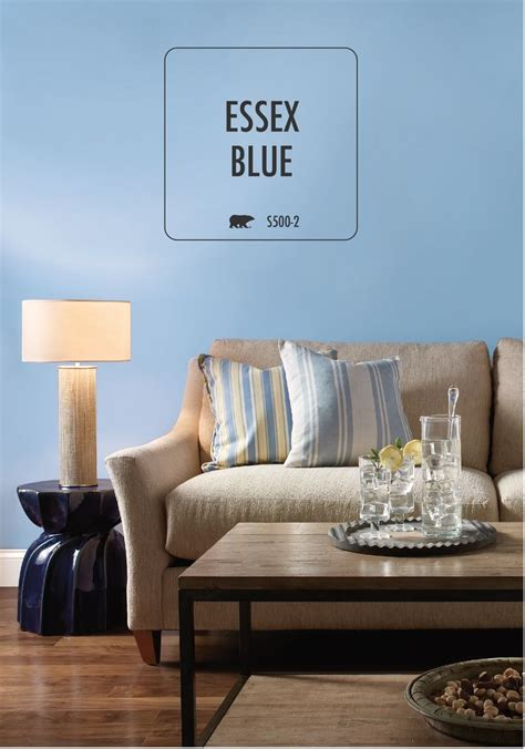 behr paint colors interior blue behr paint in essex blue is the beachy tone to