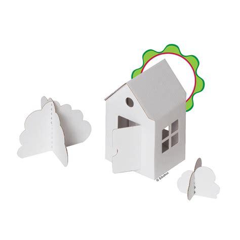 Haus Basteln by Kleines Haus Aus Pappe Zum Basteln Und Spielen Zambomba