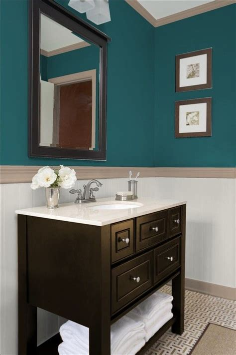 teal bathrooms ideas for the salon teal looks good on all skin tones so it will help with the