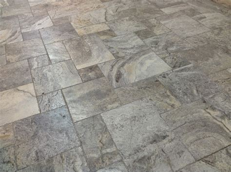 silver french pattern travertine tile modern other by millennium travertine