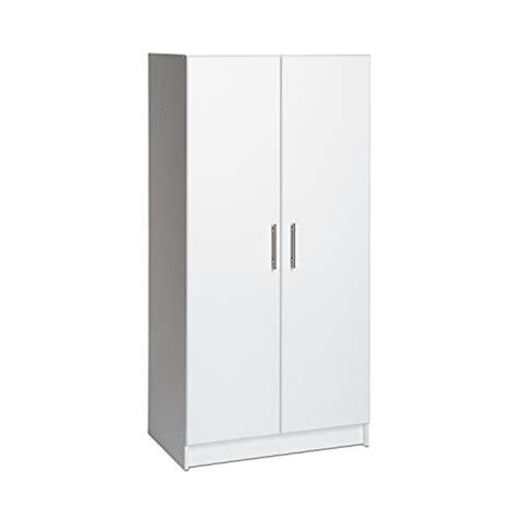 65 quot wardrobe large armoire cabinet garage organizer white