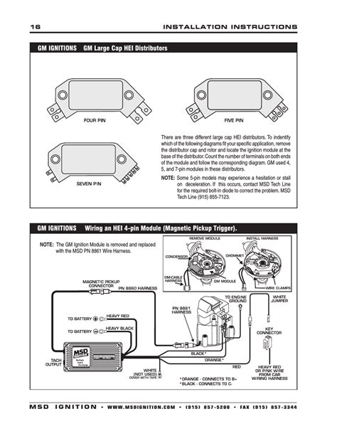wiring diagram for msd 6aln wiring free engine image for