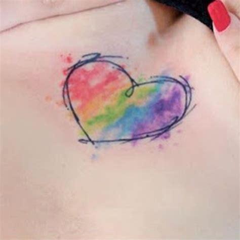 unique heart tattoo designs unique with aqua ink design photos and ideas