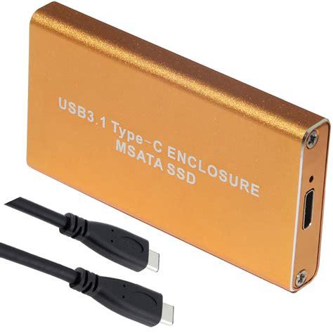 Orico Msata To Usb 3 0 Type C Ssd Enclosure Adapter Msa Uc3 Silve orico 9558u3 5 bay 3 5 inch usb3 0 sata hdd storage