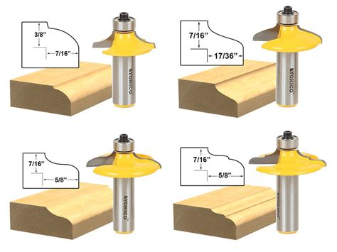 Cabinet Door Router Bits Router Bits Deals On 1001 Blocks