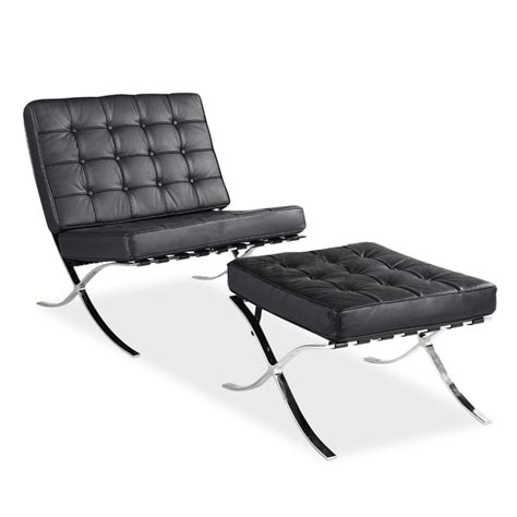 cheap leather chaise lounge cheap barcelona chair ikea creative personality minimalist