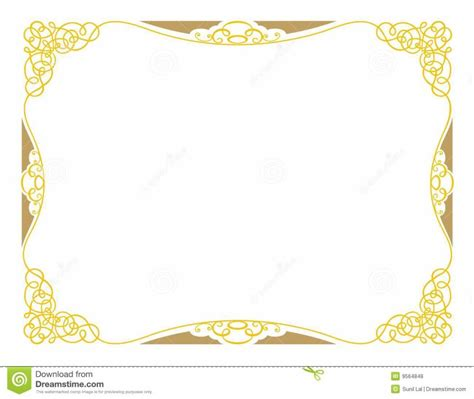 free download certificate borders promissary note template