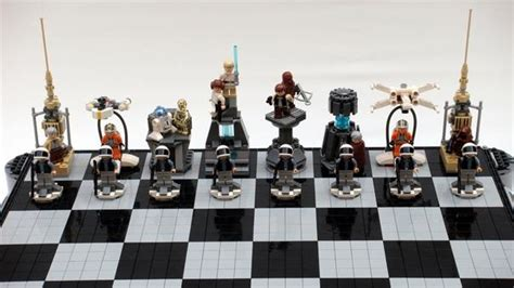 Star Wars Chess Sets star wars a new hope lego chess set 171 construction toys