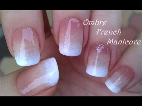 nail art tutorial on 3gp video download free download ombre french manicure design pure sponge nail