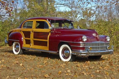 chrysler town country woody sedan