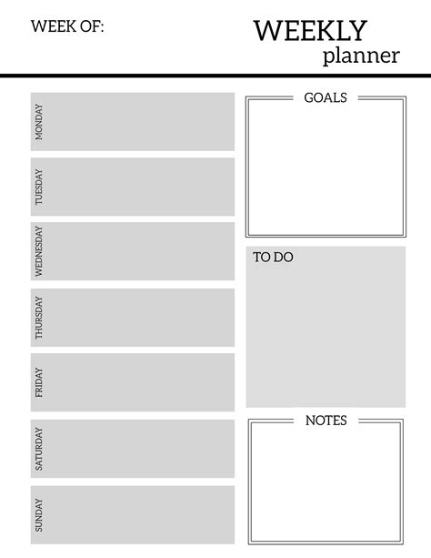 free printable planner design free printable weekly planner pages paper trail design