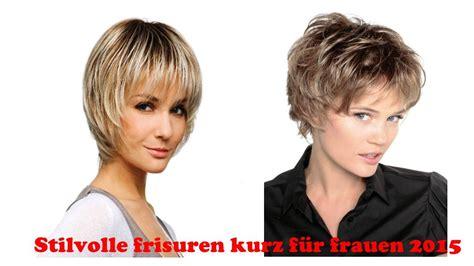 Kurz Frisuren 2016 Frauen by Die Aktuellsten Frisuren F 252 R Frauen Mit Kurzem Haar 2016