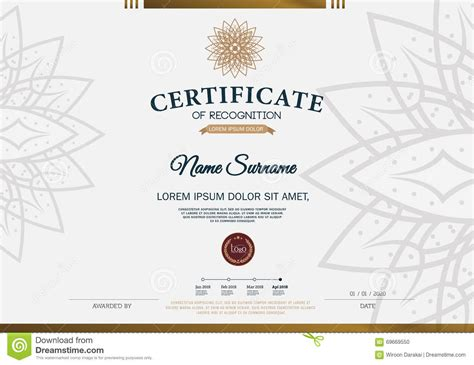 a4 size certificate templates certificate frame design template layout template in a4