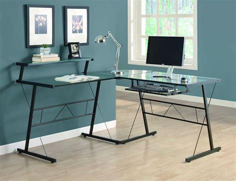 bureau ordinateur verre bureau ordinateur en l verre tremp 233 quebecbillard com
