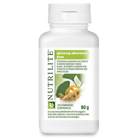 Nutrilite Siberian Ginseng With Ginkgo Biloba ginseng siberiano plus nutrilite amway