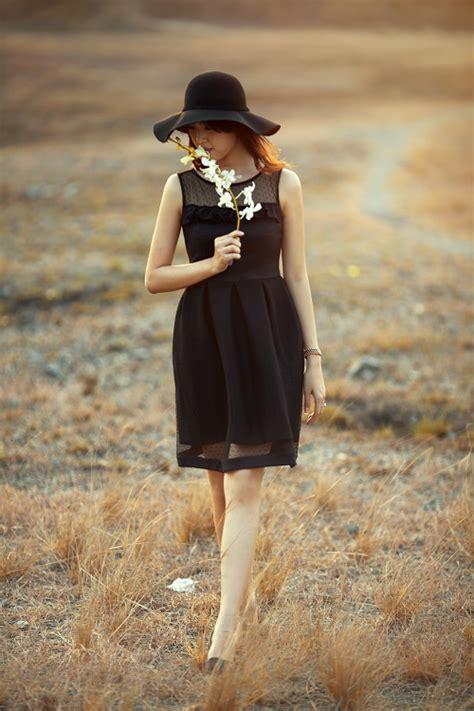 Dress Fashion By Hao Hao black dress chi蘯ソc 苟蘯ァm d盻ア ti盻 ho 224 n h蘯 o