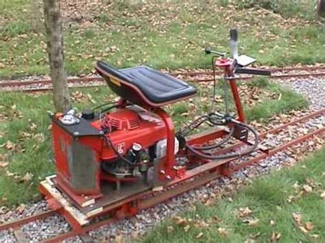 Backyard Trains Building A 7 1 4 Gauge Tram Car From A Honda Lawn Mower